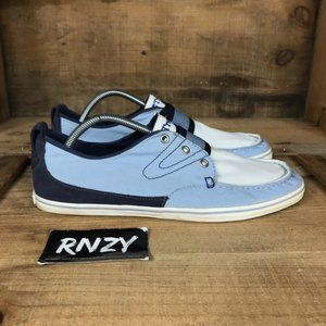 Tretorn Canvas Blue White Low Top Casual Shoes